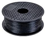DEMU 3D Drucker Filament PLA Spule Rolle 1kg 1.75mm für 3D Drucker 3D stifte (Schwarz)