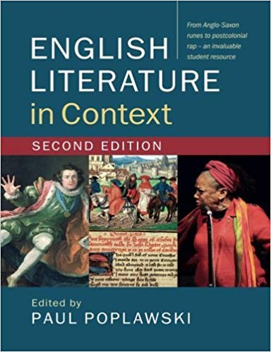 ENGLISH LITERATURE IN CONTEXT - 2ND EDITION (SOUTH ASIA EDITION) [Paperback] Paul Poplawski