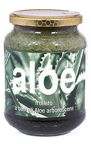Succo di Aloe arborescens frullato Fresco ricetta Padre Zago