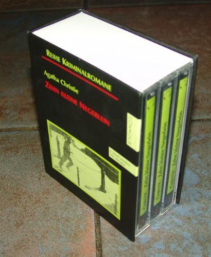 Cassetten (Tonträger), Zehn kleine Negerlein, 6 Cassetten Hörkassette – Audiobook, 1995 Agatha Christie Heidemarie Eckardt Hans Eckardt Manfred Fenner