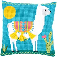 Cross stitch cushion kit Llama