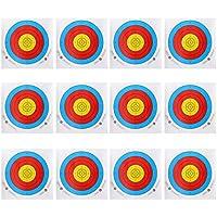 Homyl 12 Pcs de Papel Objetivo de Tiro con Archero Regalo para Deportista para Torneo