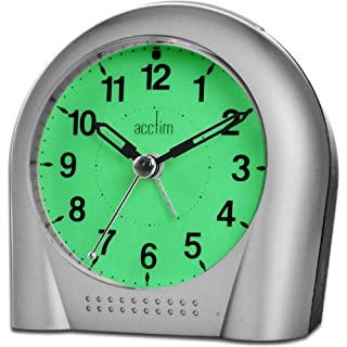 Acctim SWEEPER SILVER ALARM clock