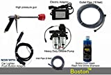 Boston Fieldstar High Pressure Washer Power Jet Wash Cleaner 12V Pump Electric Car Wheel Wash Kit