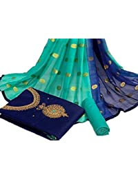 Any Designer Women's Cotton With Lakda Jaquard Fancy salwar suit