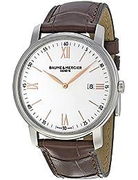 Baume & Mercier BMMOA10144 - Reloj de pulsera hombre, color Marrón