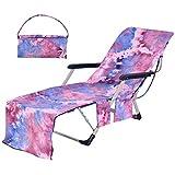 BETTERLE Strandkorb Handtuch Lounge Chair Cover, Mikrofaser Strandtasche Garten Sonnenliege Handtuch...