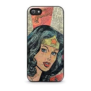 Custodia iPhone 4/4S - Wonder Woman Superhero Comic Book iPhone 4/4S Case