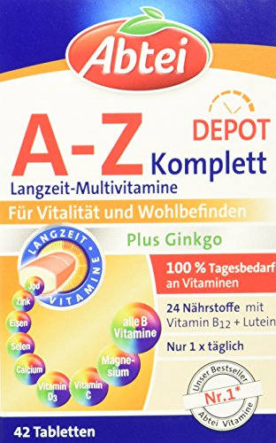 Abtei A-Z Complete + Gingko 42 Stück