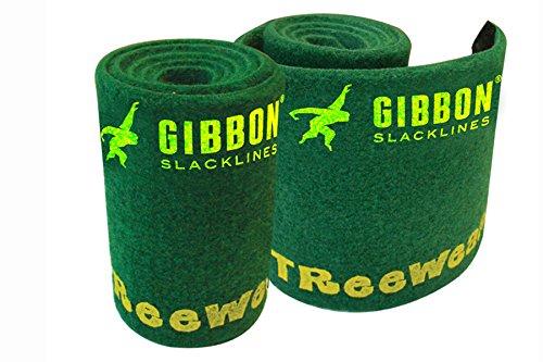 Gibbon Slacklines Tree Wear Slackline, Verde, Taglia Unica