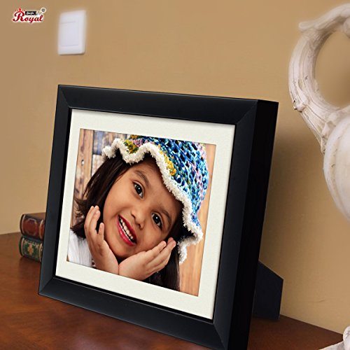 Ajanta Royal Classic 6x8 Photo Frame Insert (Black) : A-76A
