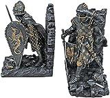 Design Toscano Arthurian Knight Bookends