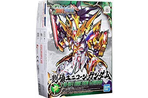 Bandai Hobby Sangoku Soketsuden LIU Bei Unicorn Gundam SD Model Kit