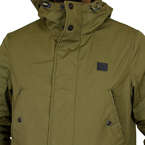 Vintage Industries Clyde Parka tan Grün