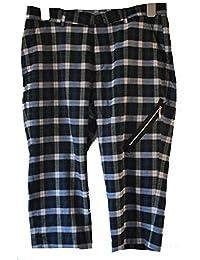 Fair Trade Punky Tartan 3/4 length Trousers