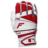 Franklin Sports; Pro Series Batting Handschuhe, Freeflex Series, weiß/Rot