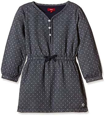 S oliver gepunktet vestito bambina grau grey 09p8 2 anni for Amazon abbigliamento bambina