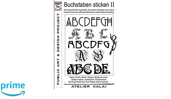 Padp Script 002 Buchstaben Sticken Ii Schreibschrift Bis