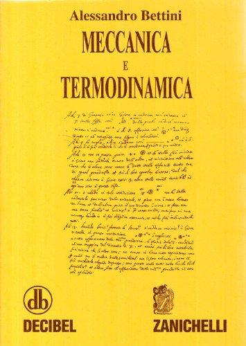 Meccanica e termodinamica