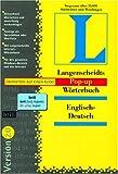 Langenscheidts Pop-up-Wörterbuch 2.0 Englisch-Deutsch, 1 CD-ROM Lesen, klicken und verstehen. Für Windows 95/NT 4.0. Rund 55.000 Stichwörter u. Wendungen - unbekannt