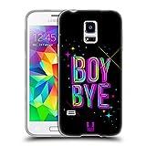 Head Case Designs Junge Auf Wiedersehen Frechkeit Soft Gel Hülle für Samsung Galaxy S5 Mini