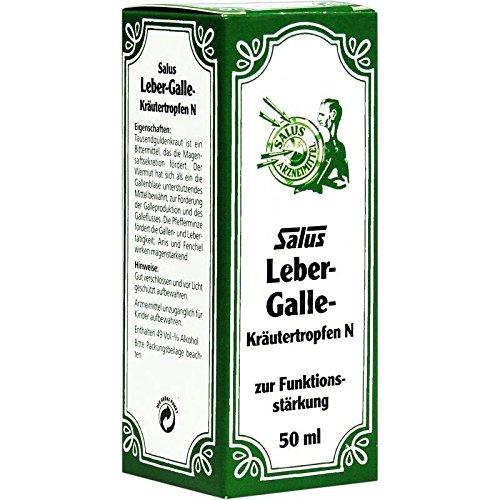 Leber Galle Kräutertropfe 50 ml