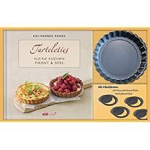 Tartelettes-Set: Kleine Kuchen pikant & süß. Buch mit Förmchen