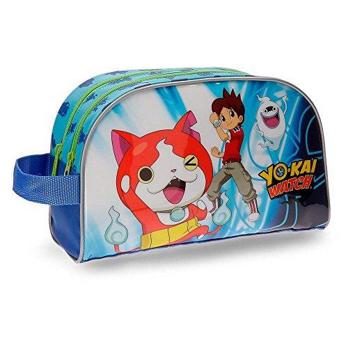 Neceser Yo Kai Watch Nathan doble compartimento adaptable