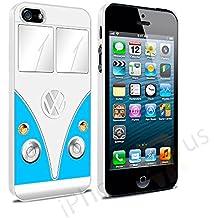 Volkswagen Camper Van–Carcasa para Apple iPhone 5y 5S se por iPhone R Us®, azul claro, Apple iPhone 6 6s