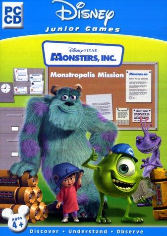 Image of Disney Junior Games Monsters, Inc: Monstropolis Mission