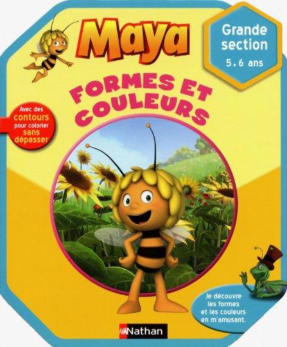 Maya l'abeille - Formes et couleurs - 5/6 ans