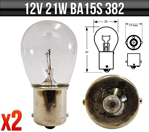 12-v-21-w-scc-ba15s-frein-arriere-indicateur-arriere-brouillard-382-ampoules-x-2