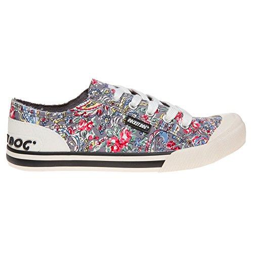 Rocket Dog Jazzin Brushed Donna Sneaker Multicolore Mehrfarbig
