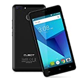 Cubot H3 Unlocked Smartphone, Android 7.0 5.0 HD Schermo 4G Telefono Cellulare, MT6737 Quad Core 1.3GHz , 3GB RAM+32GB ROM, 16/0.3MP+8MP Cameras, 6000mAh Batteria, Dual SIM, Fingerprint Unlock,OTG/OTA Cellulare - Nero
