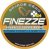 Savage Gear Finezze HD4-Geflecht, 0,19 m, 120 mm, 28 kg, Grau, 32,5 kg