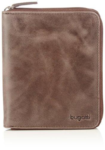 Bugatti Bags Bogotá 49216202 Unisex-Erwachsene Geldbörsen 10x12x1 cm (B x H x T) Braun (braun 02)