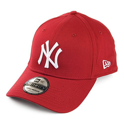 Casquette 39THIRTY Basic New York Yankees Rouge New Era - Medium/Large