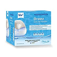 Breez Ionic Air Purifier - Removes Airborne Viruses, Natural Immune System Booster, Eliminates Allergens & Odors, Therapeutic Aromatherapy