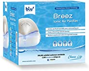 Breez Ionic Air Purifier - Removes Airborne Viruses, Natural Immune System Booster, Eliminates Allergens &