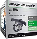 Rameder Attelage escamotable pour BMW X1 + Faisceau 13 Broches (159876-08277-1-FR)