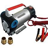 Monzana Dieselpumpe Ölabsaugpumpe | 40L/Min | 12V | 160W | selbstansaugend | inkl. Zubehör - Absaugpumpe Ölpumpe Heizöl