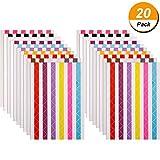 Bememo 2040 Pezzi Foto Angolo Autoadesiva per Scrapbook Album Fotografico(Multicolore)