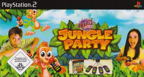 BUZZ! Junior: Jungle Party inkl. 4 Buzzer [Software Pyramide]