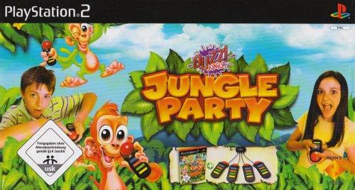 BUZZ! Junior: Jungle Party inkl. 4 Buzzer [Software Pyramide]