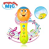Toy for 1-3 Year Old Boy Girls, Microphone Toys for 3-12 Month Ba