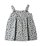 Ponies and Ponytails Girls Cotton Frock