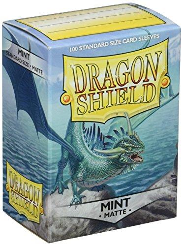 Arcane Tinmen ApS ART11025 - Dragon Shield Matte: Mint, 100 Stück -