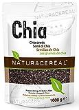 NATURACEREAL Semillas de Chia 1kg - BESTSELLER en Alemania | Chia significa FUERZA en el idioma maya...