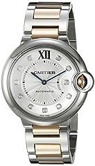 Idea Regalo - Cartier Ballon Bleu unisex oro e acciaio orologio WE902031