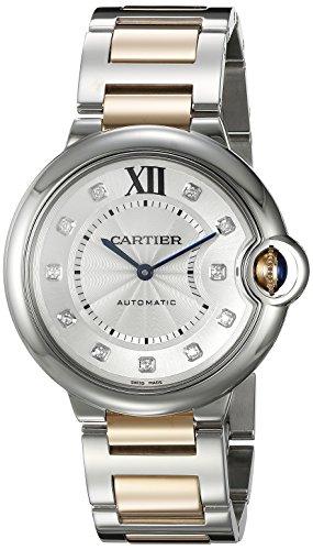 Cartier Ballon Bleu unisex oro e acciaio orologio WE902031